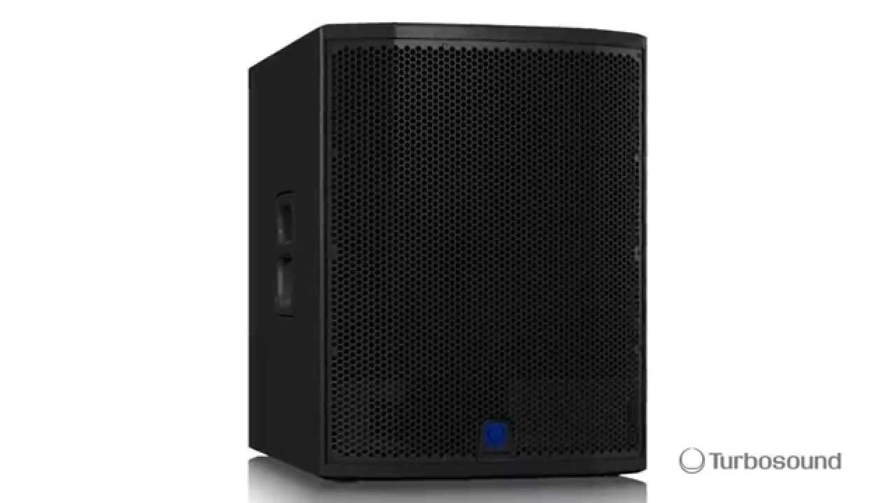 TURBOSOUND SIENA TSP118B-AN Powered Subwoofer - Overview
