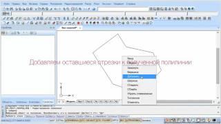 PlanTracer, урок 9  Как преобразовать отрезки в полилинию