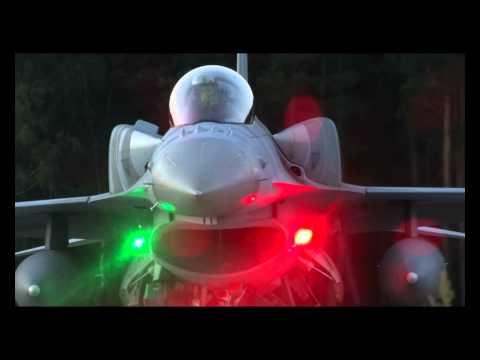 32 Baza Lotnictwa Taktycznego Łask- loty nocne F-16