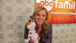 The Frozen Sing-A-Long - Special Message from Taylor Spreitler! | Freeform