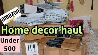 Amazon home decor haul | Diwali special items | 500 रू. से भी कम में सजावट का सामान । दिवाली स्पेशल