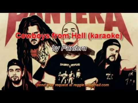 Cowboys from hell (karaoke)