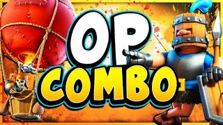 TOP LADDER with NEW OP RECRUITS + BALLOON DECK! - CLASH ROYALE