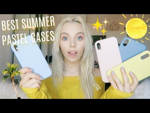 The Perfect Pastel Iphone Cases For Summer 🌻🌞 | Jasbon Cases