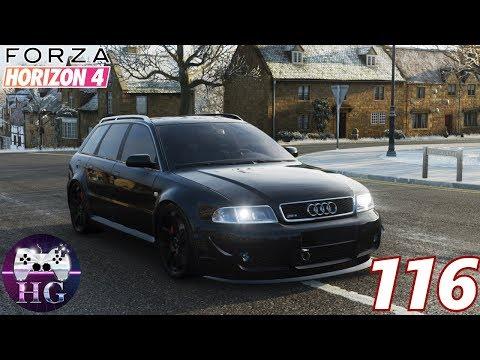 Forza Horizon 4. Prepariamo un'auto familiare per il raduno: Audi RS4 2001 thumbnail
