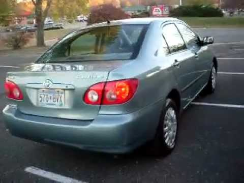 Nice 2005 Toyota Corolla CE, 4 Door, 1.8 Liter 4cyl, Automatic, 64,000 Miles,  WARRANTY!!!   YouTube