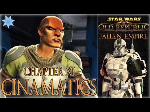 "SWTOR KOTFE Chapter XI ""Disavowed"" Cinematics - Republic Trooper (Light Side)"
