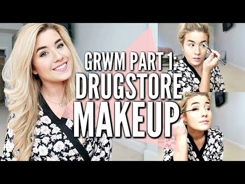 ☝️GRWM PART 1: DRUGSTORE MAKEUP TUTORIAL | MOMMY GET READY WITH ME |  Love Meg thumbnail