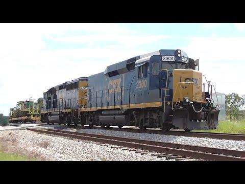 [3R] The Run-Around-Train Maneuver of CSX A001-29 & Hot Shots, Hull - Comer GA, 08/29/2016 ©mbmars01