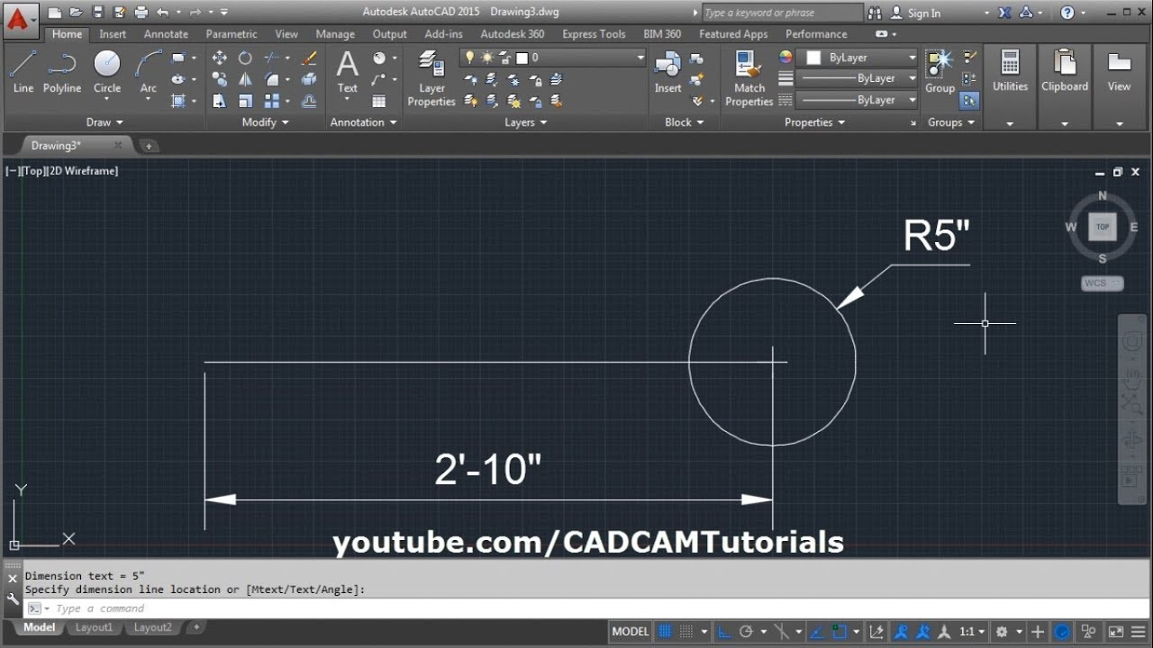 AutoCAD Dimension in Feet and Inches