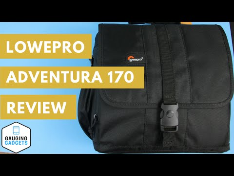 Lowepro Adventura 170 Review - Camera Shoulder Bag - LP36108