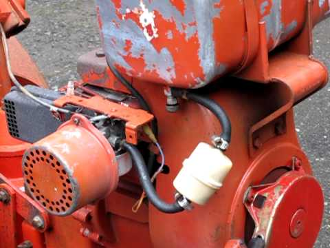 Tecumseh HH60 Engine Demonstration YouTube