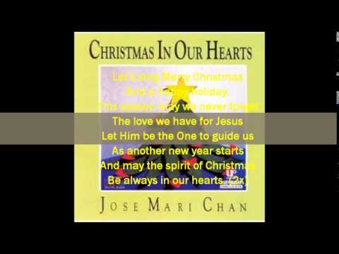 jose mari chan feat liza christmas in our hearts lyrics on screen by k irby - Christmas In Our Hearts Lyrics