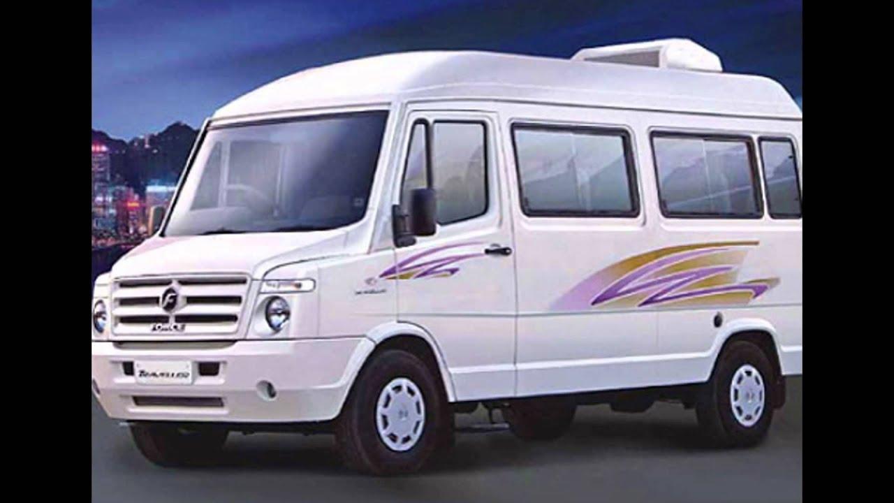Tempo Traveller Price In India