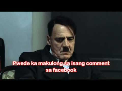 Galit si Hitler sa Cybercrime Law
