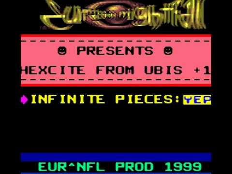 EURASIA - NIGHTFALL - hexcite - TRAINER - GBC Cracktro / Crack Intro ( GAME BOY NINTENDO)