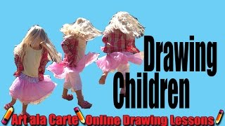 Drawing Children: Body proportions