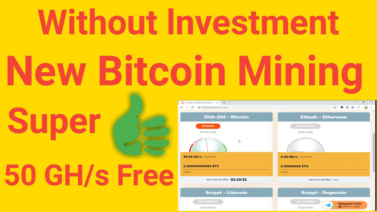 free bitcoin mining online 2021
