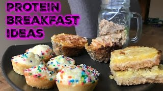 5 Healthy, High Protein Breakfast Recipes