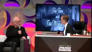 Ian McDiarmid The Emperor Strikes Back Star Wars Celebration 2015 Panel