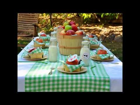 Summer picnic decorations ideas