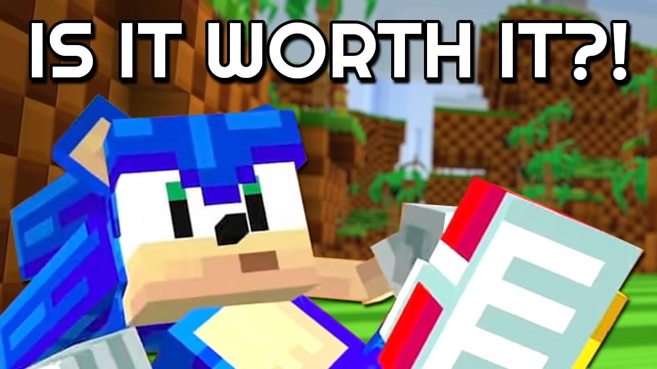 Is the Minecraft x Sonic DLC WORTH IT?