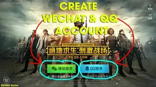 Download Lagu PUBG Mobile Tencent - Full Clip Create QQ & Wechat Account || Full Link Download IOS & Android