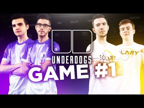 UNDERDOGS : SOLARY VS MILLENIUM - GAME #1