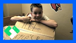 Bryce packs up most of his room and is ready to make the move to th...