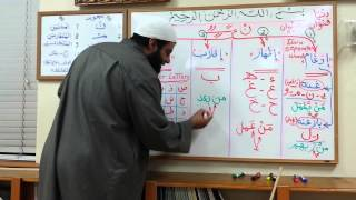 Repeat youtube video Lessons on Tajweed - Session 3 - Rules of Noon Sakin and Tanween - by Shaykh Hosaam