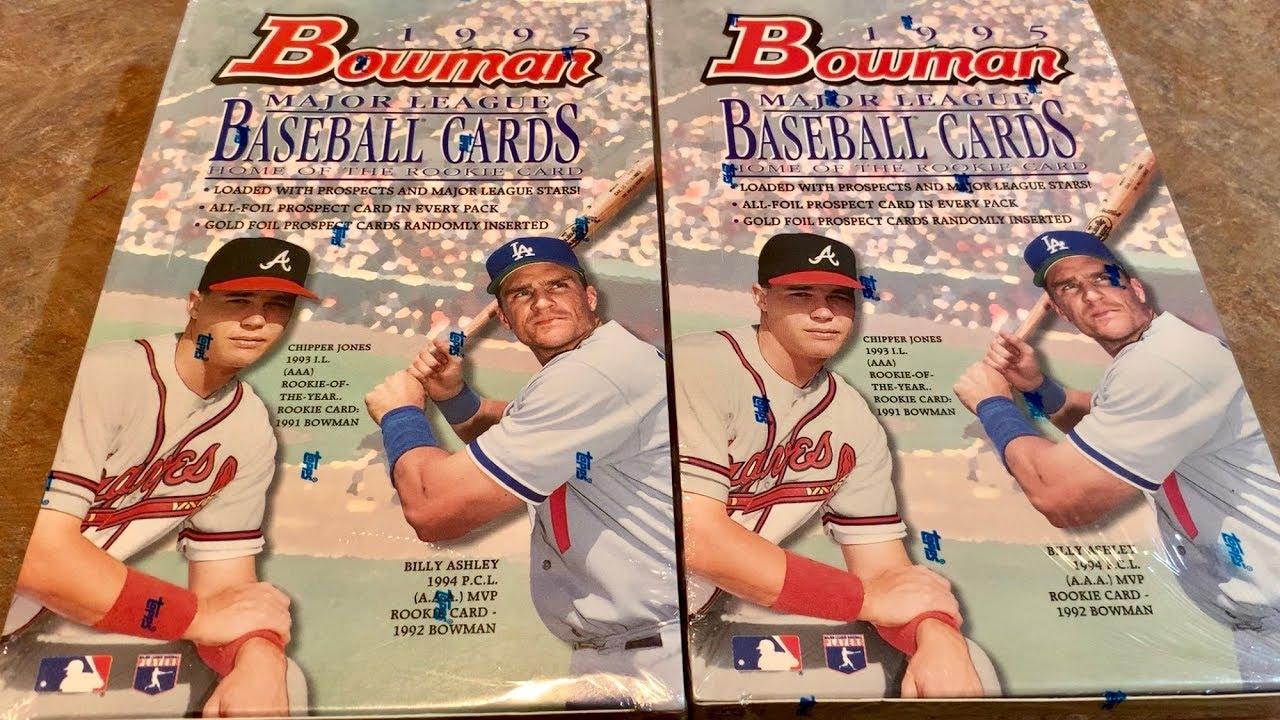 1995 Bowman Baseball Box Opening Throwback Thursday