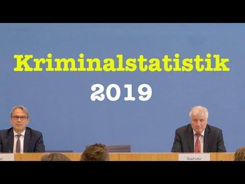 Polizeiliche Kriminalstatistik & Politisch motivierte Kriminalität 2019 | BPK 27. Mai 2020