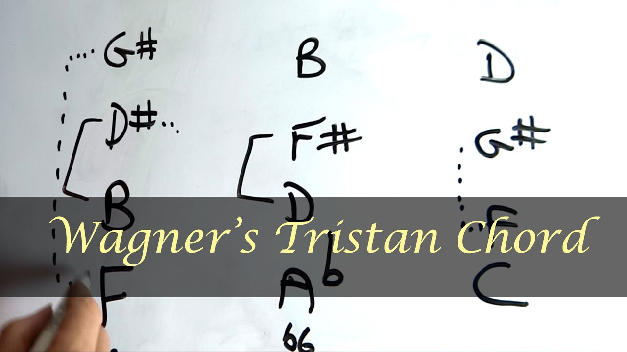 The Tristan Chord   Richard Wagner