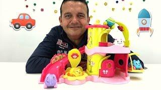vamos a jugar vdeo de juguetes para nios casa de juguetes carrito en forma de animal