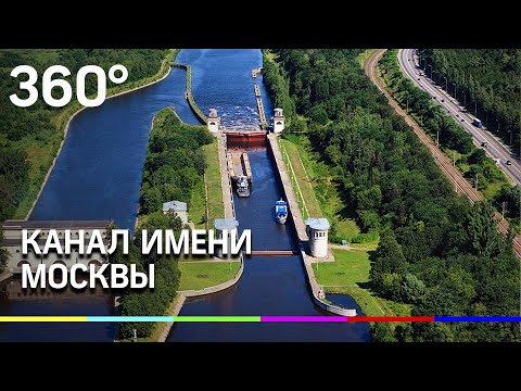 Канал им. Москвы /  Moscow Canal: Bird's Eye View