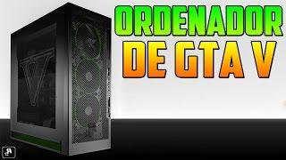¡¡INCREIBLE!! ¡¡ORDENADOR PERSONALIZADO DE GTA V!! - Gameplay GTA V Online PS4