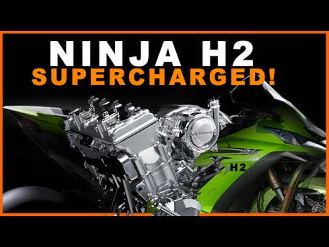 kawasaki ninja h2r supercharged what will that mean exactly youtube. Black Bedroom Furniture Sets. Home Design Ideas