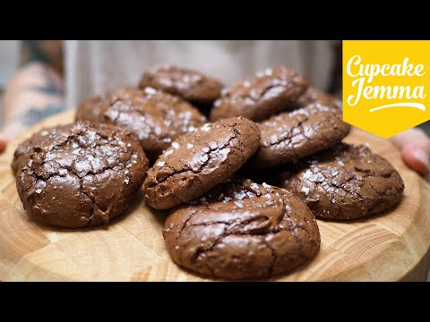 Generate Salted Chocolate Brownie Cookies | Cupcake Jemma Screenshots
