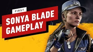Mortal Kombat 11 Pro Player Exhibition Finale - Sonya Blade (SonicFox) vs. Baraka (Tweedy)
