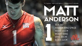 Gambar cover Matt Anderson AMAZING Top 10 Crazy Actions | VNL - 2018