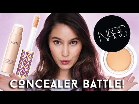NARS Soft Matte Complete Concealer VS Tarte Shape Tape | Karima McKimmie
