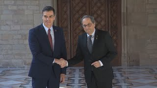 Sánchez cede y constituirá la mesa de diálogo el 26 de febrero