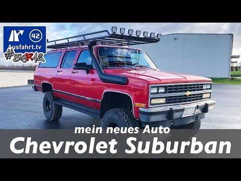 #BIGR42 Chevrolet Suburban 5.7 L V8 - mein neues Auto! Ausfahrt.tv