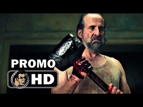 AMERICAN GODS All Season 1 Trailers And Character Promos (HD) Neil Gaiman Starz Series