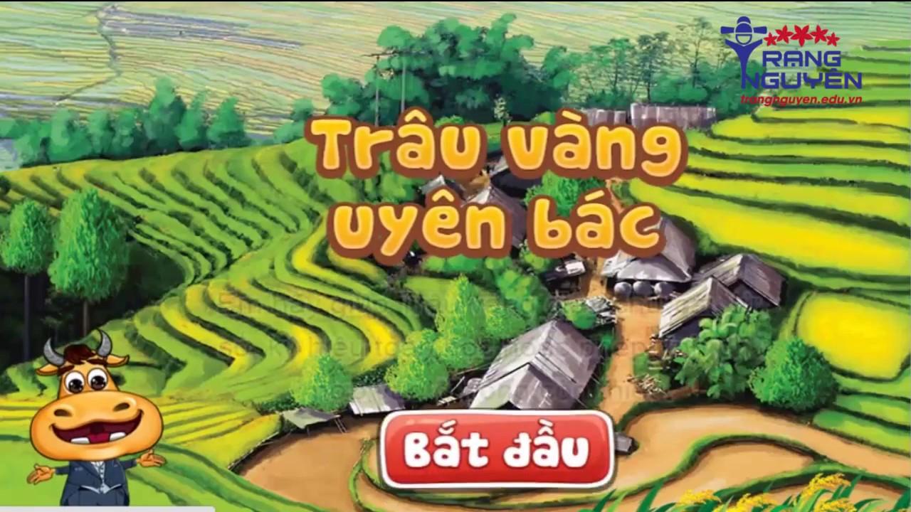 Thi Trạng nguyên Tiếng Việt Lớp 4 Vòng 17   Thi Trạng Nguyên Tiếng Việt Mới Nhất