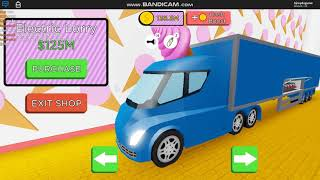 ROBLOX | GETTING THE ELECTRIC LORRY IN 🍦ICE CREAM VAN SIMULATOR | GAMEPLAY VIDEO