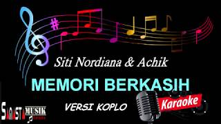Memori Berkasih | Karaoke Koplo