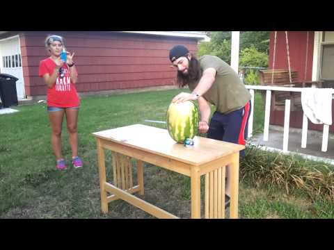 Sword vs Watermelon fail