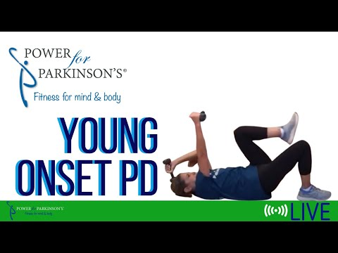 Power for Parkinson's Young Onset PD 7-Circuit Workout Live Streaming Day 130