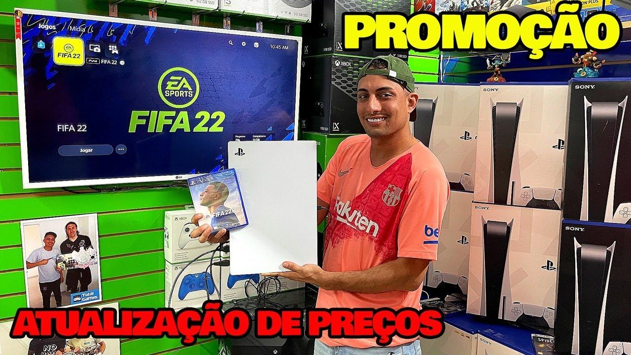 PS5 + BARATO PROMOÇÃO DIA DAS CRIANÇAS TOTAL GAMES SANTA EFIGÊNIA